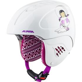 Alpina Carat Kask narciarski Dzieci, eskimo-girl